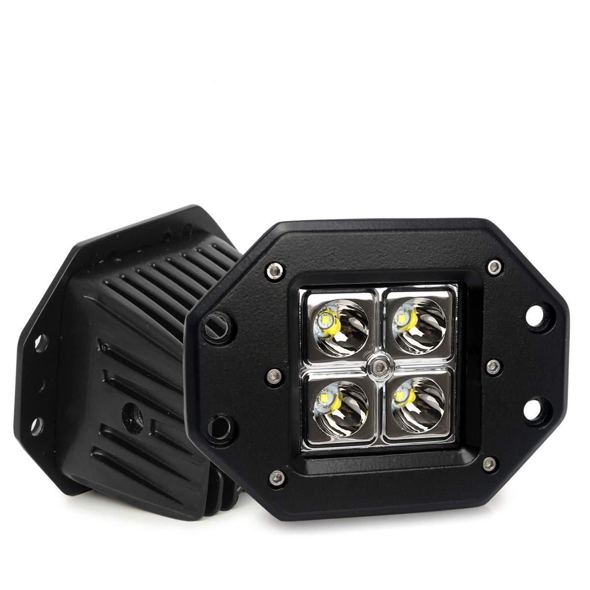 4x4 Offroad Vehicles 2 Years Warranty Green-L Spot LED Work Light Bar Spot Beam DC 10-30v Waterproof Working Lamps for Trucks