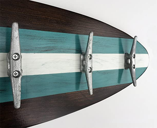 Amazon 40 Ft Surfboard Coat Rack With Cleats White And Dark Unique Surfboard Coat Rack