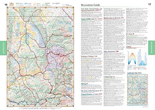 Colorado benchmark road recreation atlas for for Colorado fishing atlas