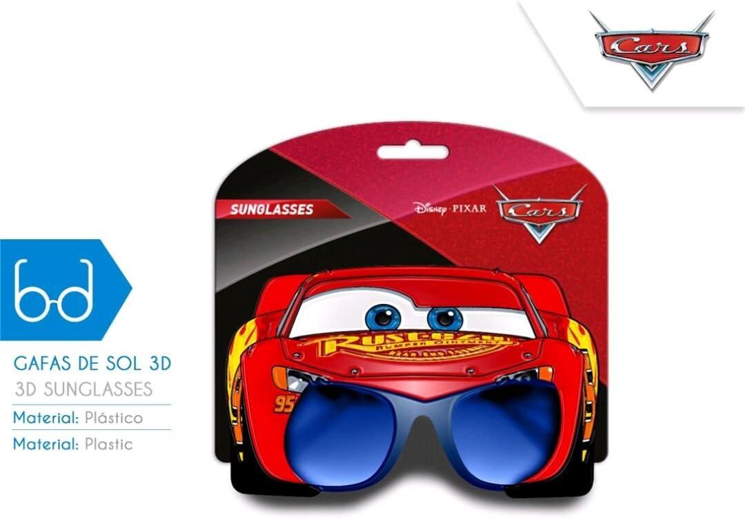 wd19542 Disney-Cars Occhiali da sole 3d
