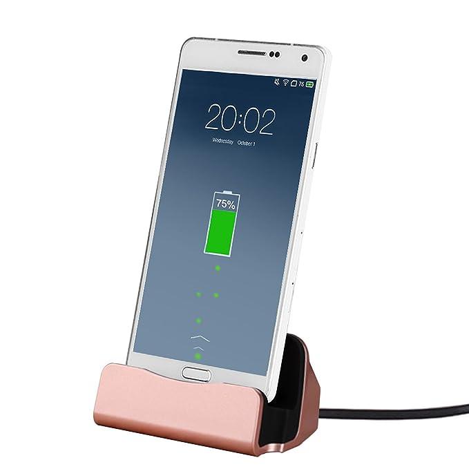Carga USB de Micro, hikeep Base de carga con cable de carga y ...
