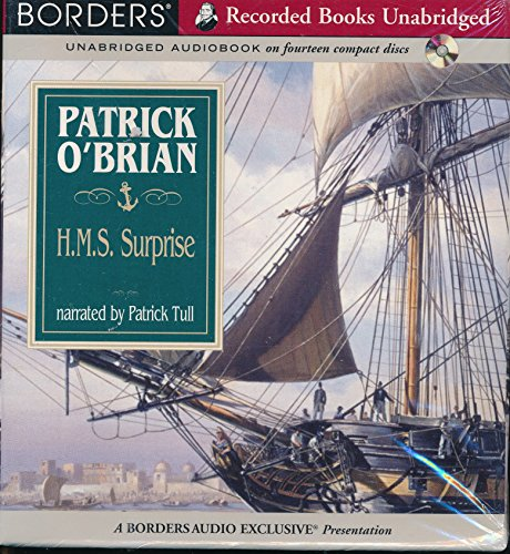H.M.S. Surprise by Patrick O'Brian Unabridged CD Audiobook (The Aubrey / Maturin Series) by Recorded Books