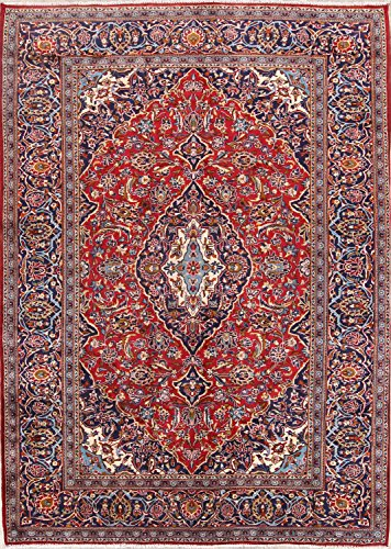 Rug Source Floral 8x11 Kashmar Hand Made Persian Area Rug (11' 2'' x 8' (8'2 Kashmar Persian Rugs Carpets)