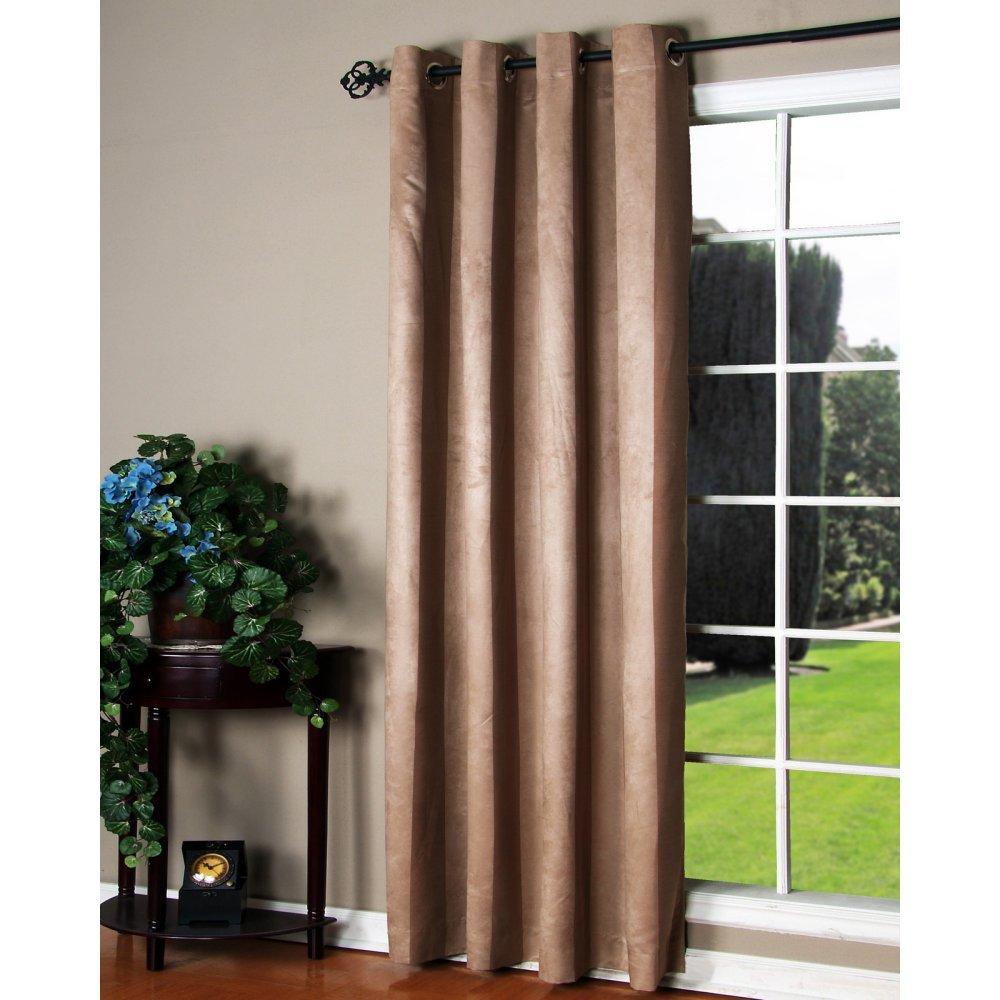 Habitat Manhattan Window Panels Taupe Common Wealth Home Fashions 70242-109-5484-517