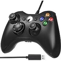 Controlador con Cable para Xbox 360, AodoT Controller de Gamepad USB Wired Controlador de gamepad Xbox 360, Double…