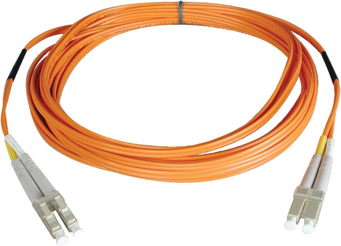 N320-01M Tripp Lite Duplex Multimode 62.5//125 Fiber Patch Cable 3-ft. LC//LC 1M