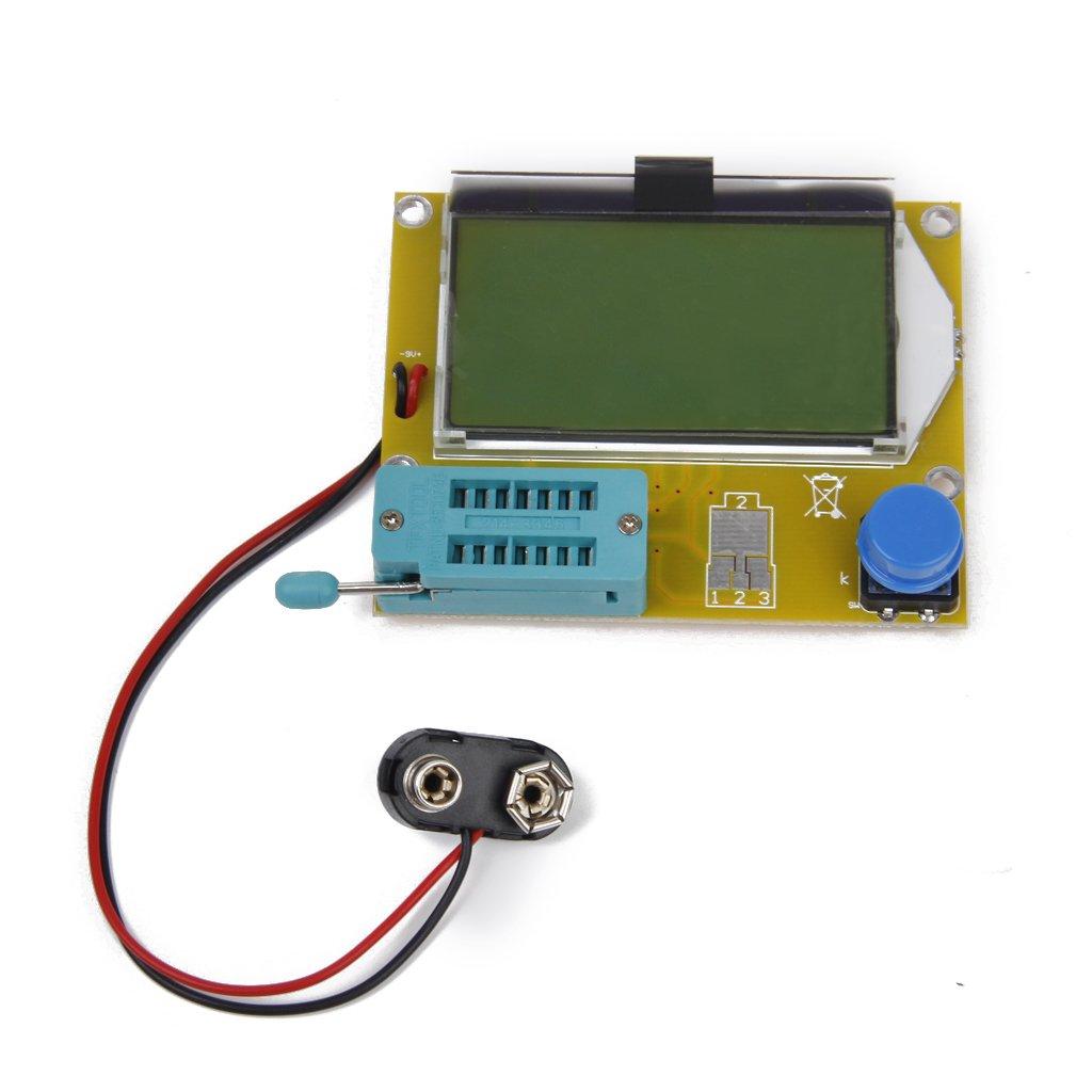 Generic Testing Lcd Transistor Tester Capacitance Esr Meter Diode Testingelectroniccomponents 2methodsfortestingmosfetshtml Triode Mos Pnp Npn L C R Industrial Scientific