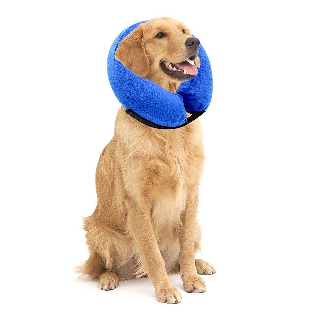 SELMAI - Collar Hinchable para Perros, Suave, Recuperación ...