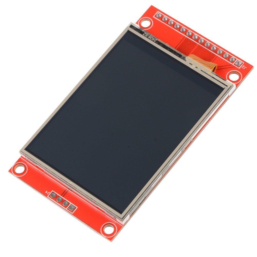 Serial SPI - 2.4 Screen 240 x 320 TFT LCD - ILI9341 Display Display Arduino Rasp Thingnovation