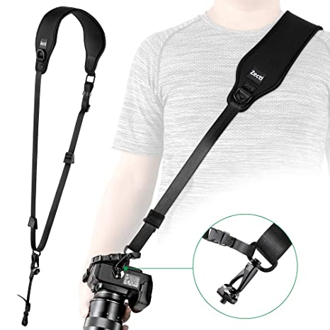 Correa para el Cuello Zecti Camera, Correa Ideal para cámara Canon Hight Camera para Canon