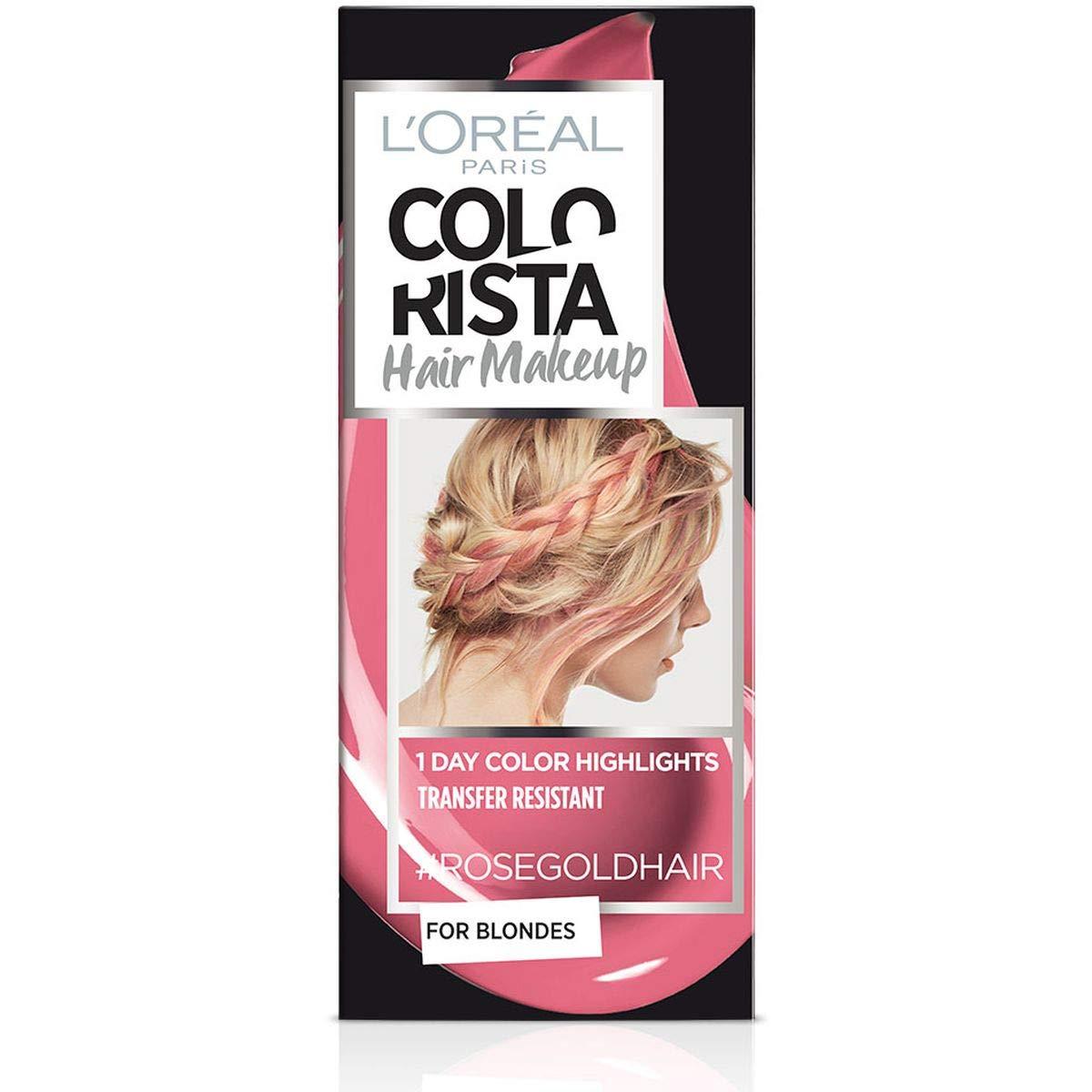 L'Oreal Paris Colorista Hair Make Up Rose Gold