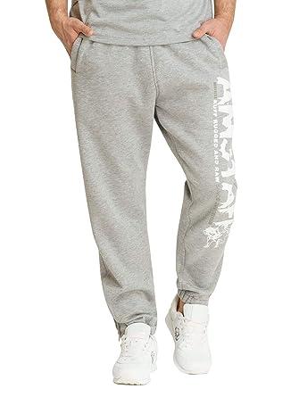 Amstaff - Pantalones de chándal Gris XL: Amazon.es: Ropa y accesorios