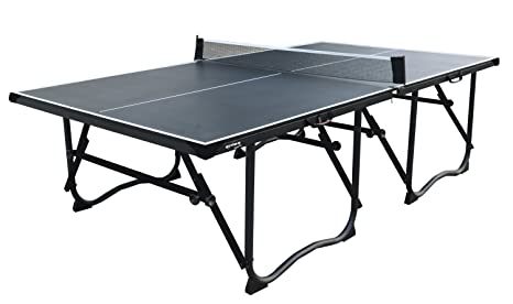 L.A. Sports Tischtennisplatte Solex Table Tennis Set Schwarz Mit ...