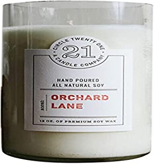 product image for Circle 21 Candles Orchard Lane Scented Soy Candle, Clear