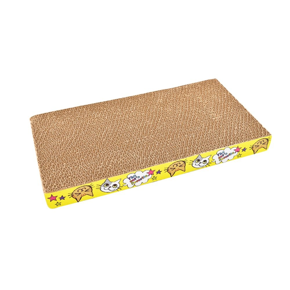 A Cat Scratch Board Grinding Claw Wear Corrugated Paper Cat Cat Cat Toy Cat Supplies 6 Kinds of Shapes are Optional (color   A)