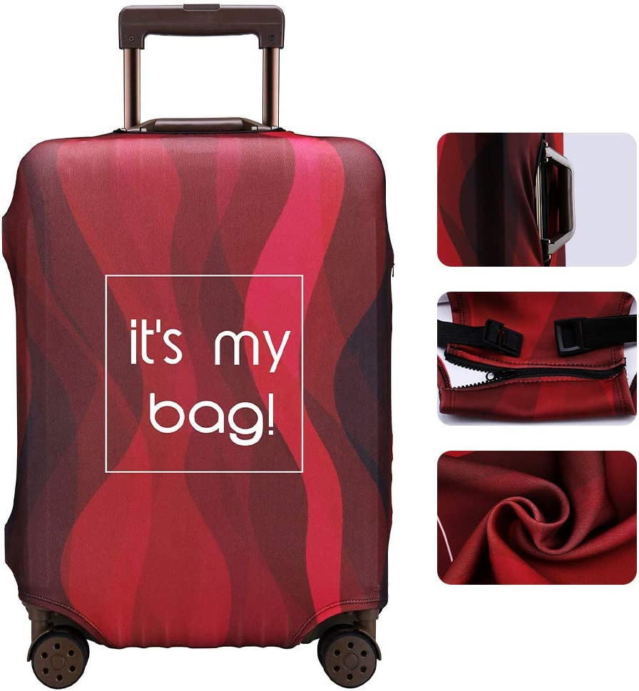 TOGEDI Luggage Cover Anti-scratch Baggage Cover Protector Washable Dust Thicken Elasticity Cover Travel