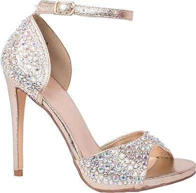 5e4fc7a6ab8 Lauren Lorraine Women s Lydia Ankle Strap Sandal