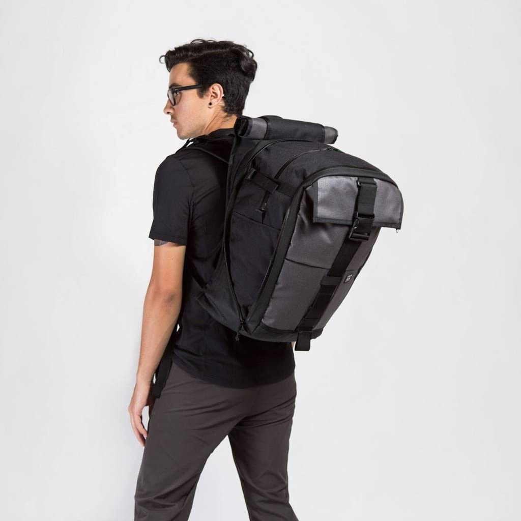 Expandable Cargo Pack Backpack Mission Workshop Rambler 22L-44L Black 1,350-2,700 cu.in