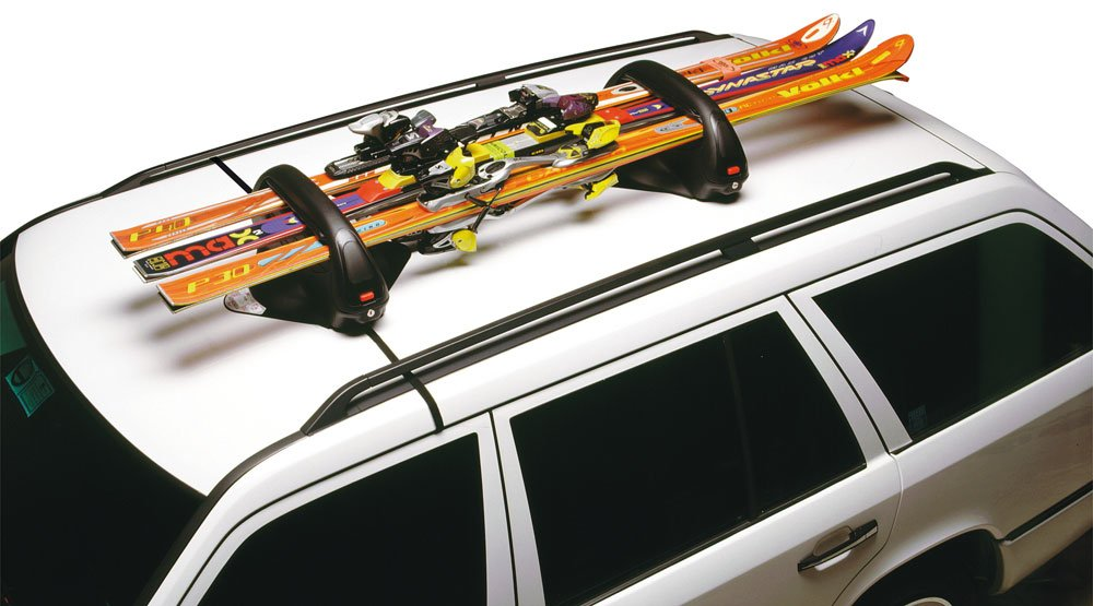 Cora 000420418 Magnetic Sidney Ski Rack Holds 3 Pairs with Spanner