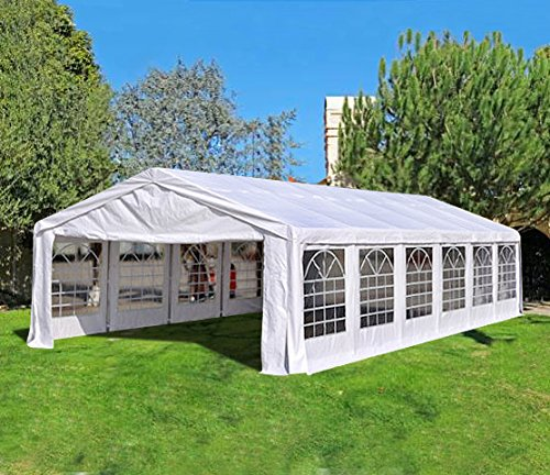 Quictent 40'x20′ Heavy Duty Outdoor Carport Party Wedding Tent Shelter Gazobo Pavilion