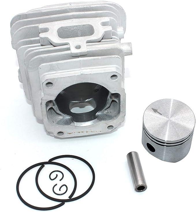 P SeekPro Kit de pistón de Cilindro de 45 mm para Oleo-Mac 952 952 Master Efco 152 Motosierra PN 50082012E 50082012 50070047a 50082012B: Amazon.es: Jardín