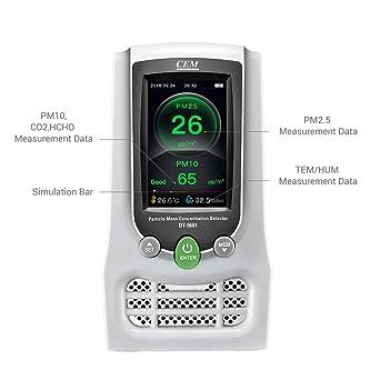 CEM DT-9681 monitor de concentración de masa de partículas de aire ...