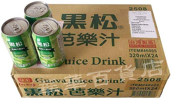 黒松芭樂汁【24缶セット】 グァバジュース 台湾産飲料 飲み物 320mlx24缶