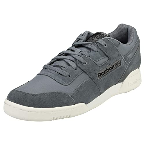 Zapatillas Reebok Workout Plus MU Allow Black Chalk: Amazon.es: Zapatos y complementos