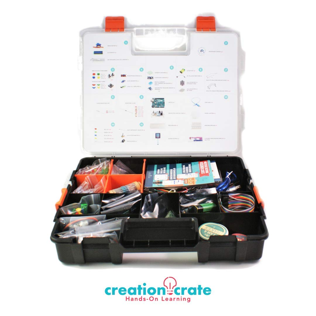 Arduino Uno R3 Kit CREATION CRATE (7RB2VZP6)
