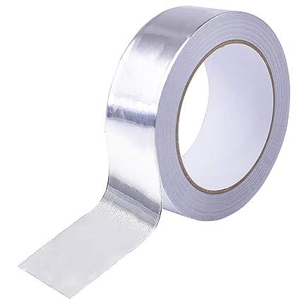 Cinta adhesiva de aluminio para sellado de aluminio Cococity, conducto de cinta de color plateado