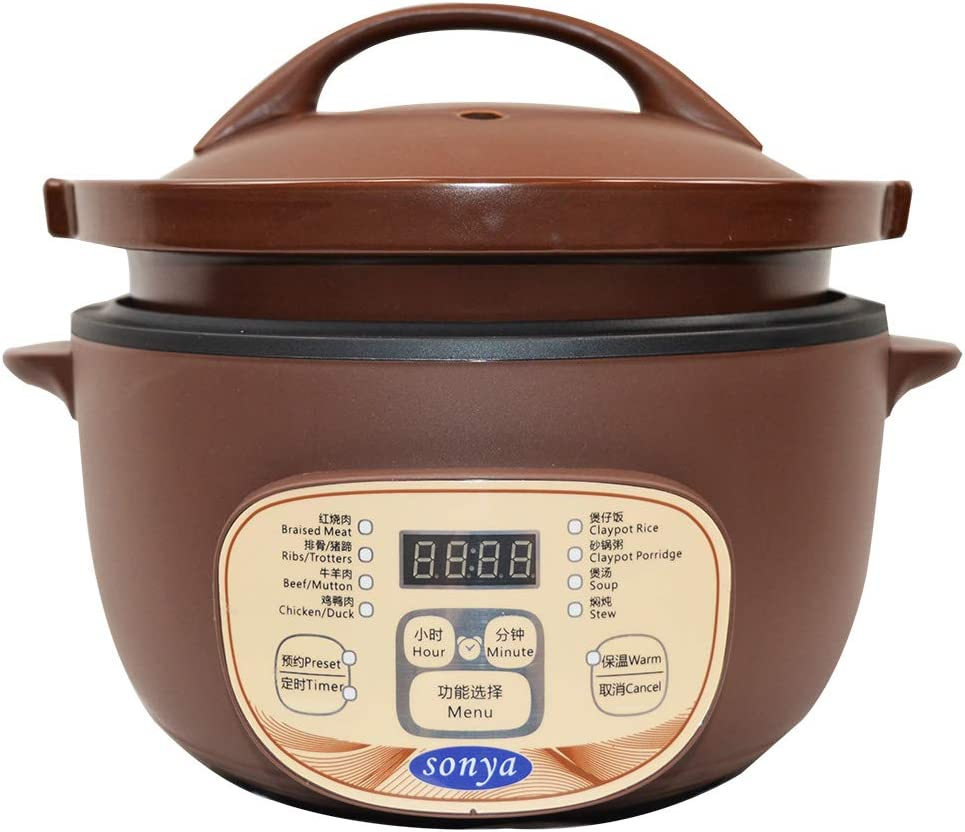 Sonya 3.0L Electric Stew Cooker/Claypot STC-30