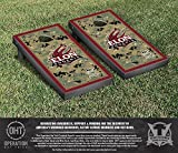 NCAA Elon University Phoenix Border Version Operation Hat Trick Cornhole Game Set