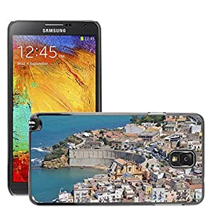 Hot Style Cell Phone PC Hard Case Cover // M00170702 Drills City Sea Sicily // Samsung Galaxy Note 3 III N9000 N9002 N9005