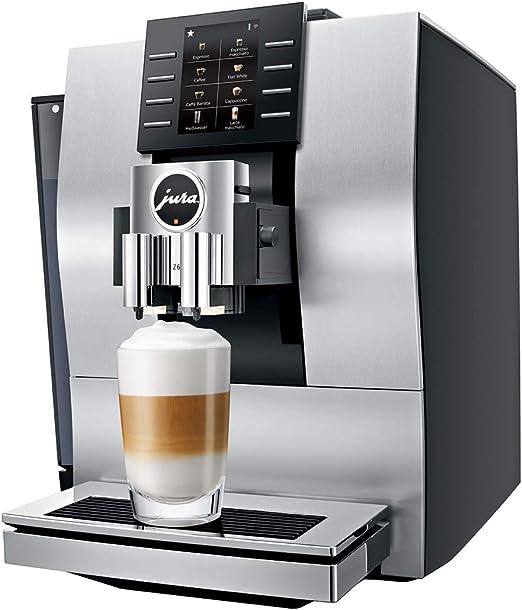 Jura 15237 – Cafetera automática, plateado: Amazon.es: Hogar