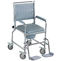 NRS Healthcare M66119 - Silla sanitaria con ruedas