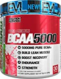 Evlution Nutrition BCAA5000 Powder 5 Grams of Premium BCAAs (Cherry Limeade, 30 servings)