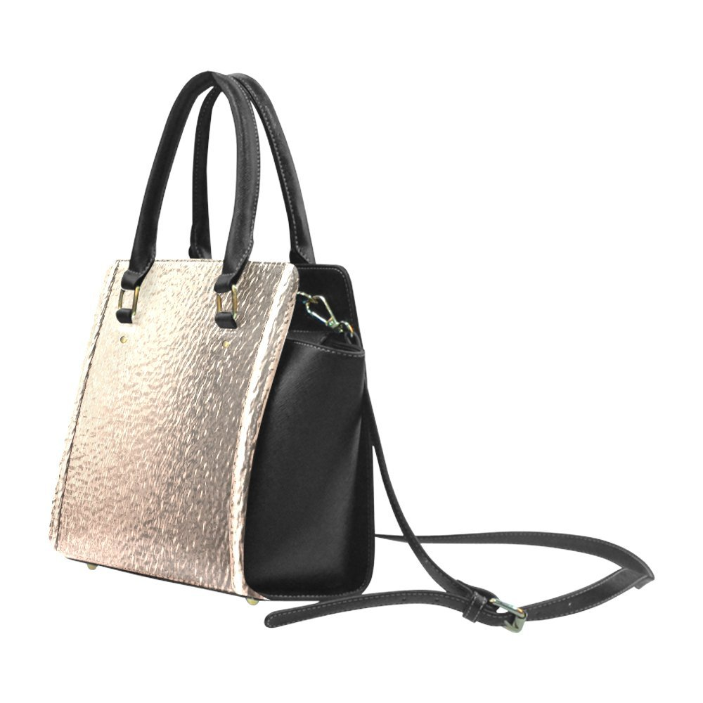 Interestprint Custom Metallics 3-D Look Gold Foil Classic Women Top Handbag Shoulder Bag