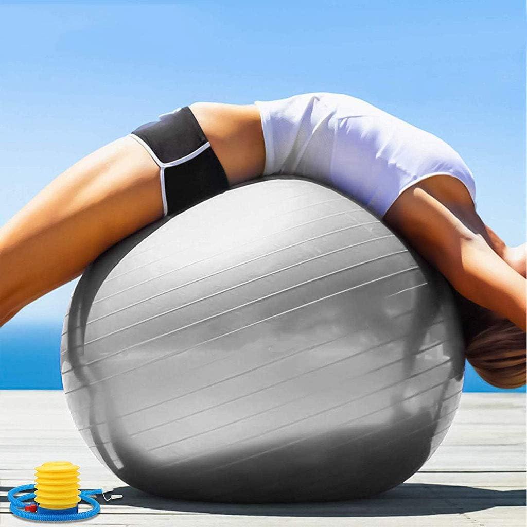 DZLXY Yoga Ejercicio Pelota 45CM/55CM/65CM/75CM para Fitness ...