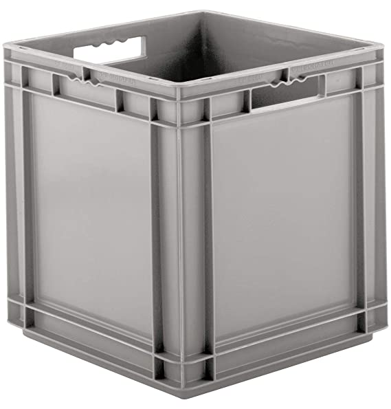56,6 l 20 Kg Tragkraft SSI Sch/äfer EF 6281 Eurokiste Kunststoffbox Transportbox offen ohne Deckel Rot Made in Germany 600x400 mm