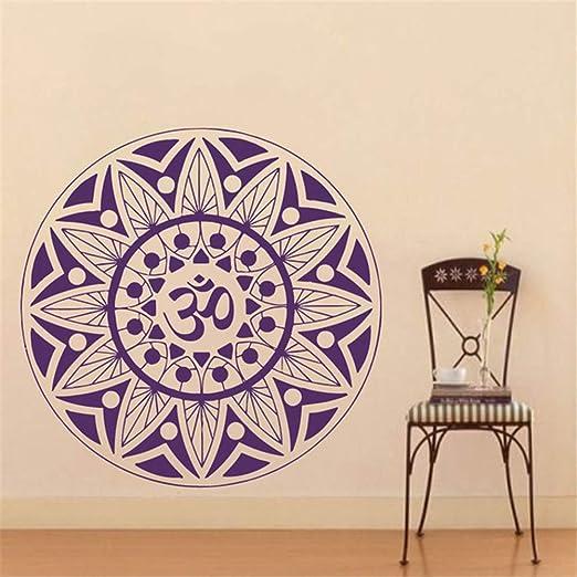 Ajcwhml Pinturas Murais Mandala Grande Vinilo Tatuajes de Pared ...
