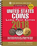 img - for A Guide Book of United States Coin 2018: The Official Red Book, Large Print Edition (Guide Book of United States Coins) book / textbook / text book