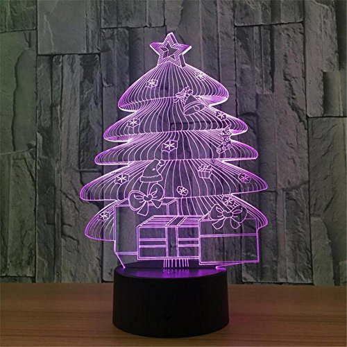 LUCKY CLOVER-AChristmas Tree,Yoga,Guitar 7 Color Heart Poker Face Shape 3D Remote/Touch Control Light Illusion Lamp,Optical Night Lights Table Decor Lamps Thanksgiving Gifts Toys , - Face For Shades Shape