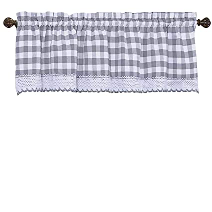 Home & Garden Goodgram Buffalo Check Plaid Gingham Custom Fit Window Curtain Treatments Assort Selected Material