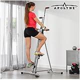 Apolyne IG113683 Escaladora Vertical de Fitness, Unisex Adulto, Grey, Talla Única