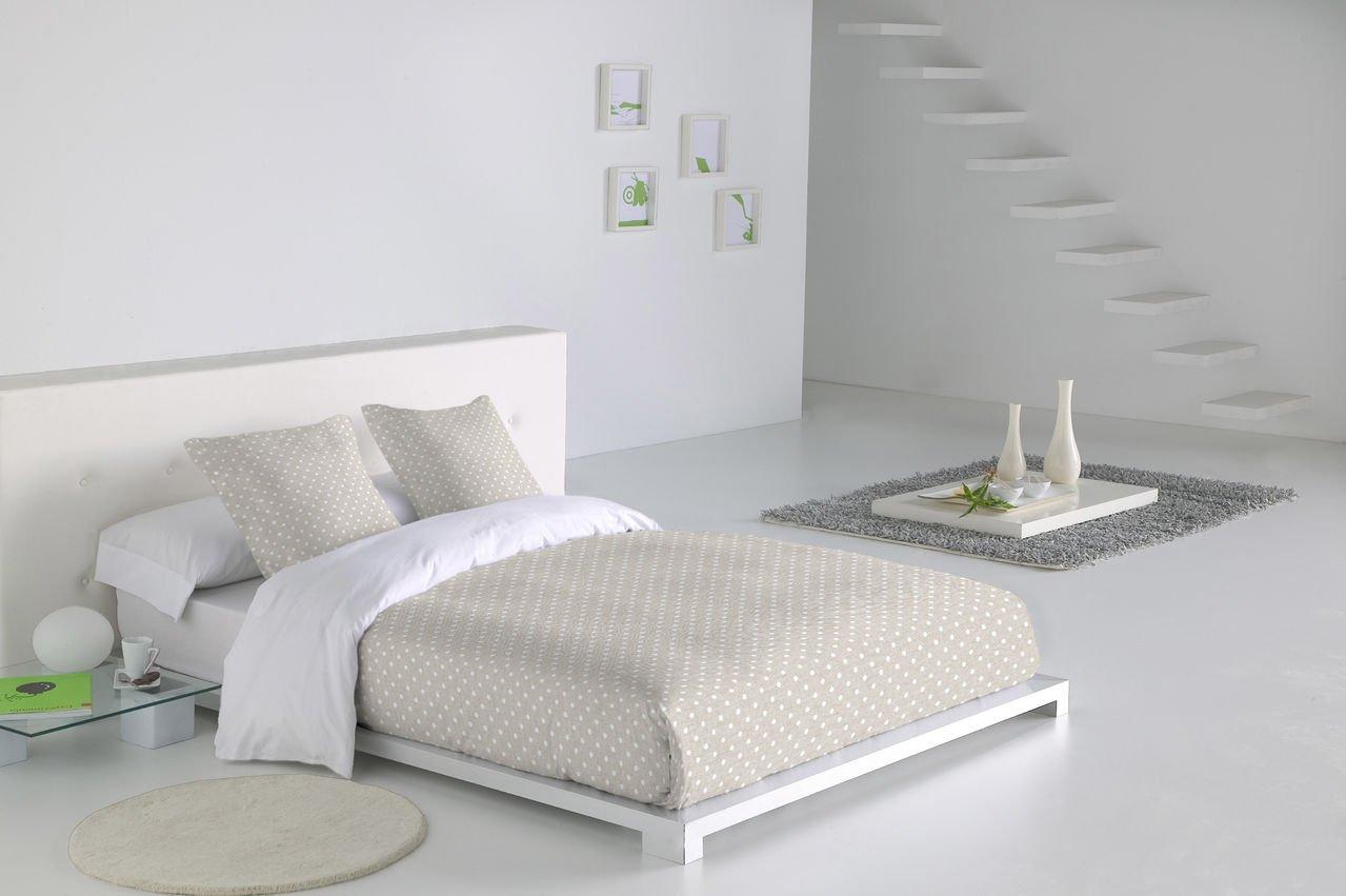 Sabanalia - Funda nórdica Niza (disponible en varios tamaños y colores), Cama 180, blanco: Amazon.es: Hogar