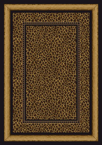 Signature Zambia Print Onyx Rug Rug Size: Square 7'7