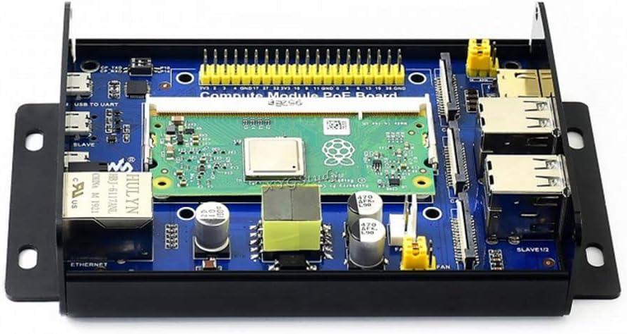 CM3+L CM3+ CM3L XYGStudy Compute Module IO Board Plus Development Board Compatible with The Compute Module IO Board V3 Composite Breakout Board for Developing with Raspberry Pi CM3
