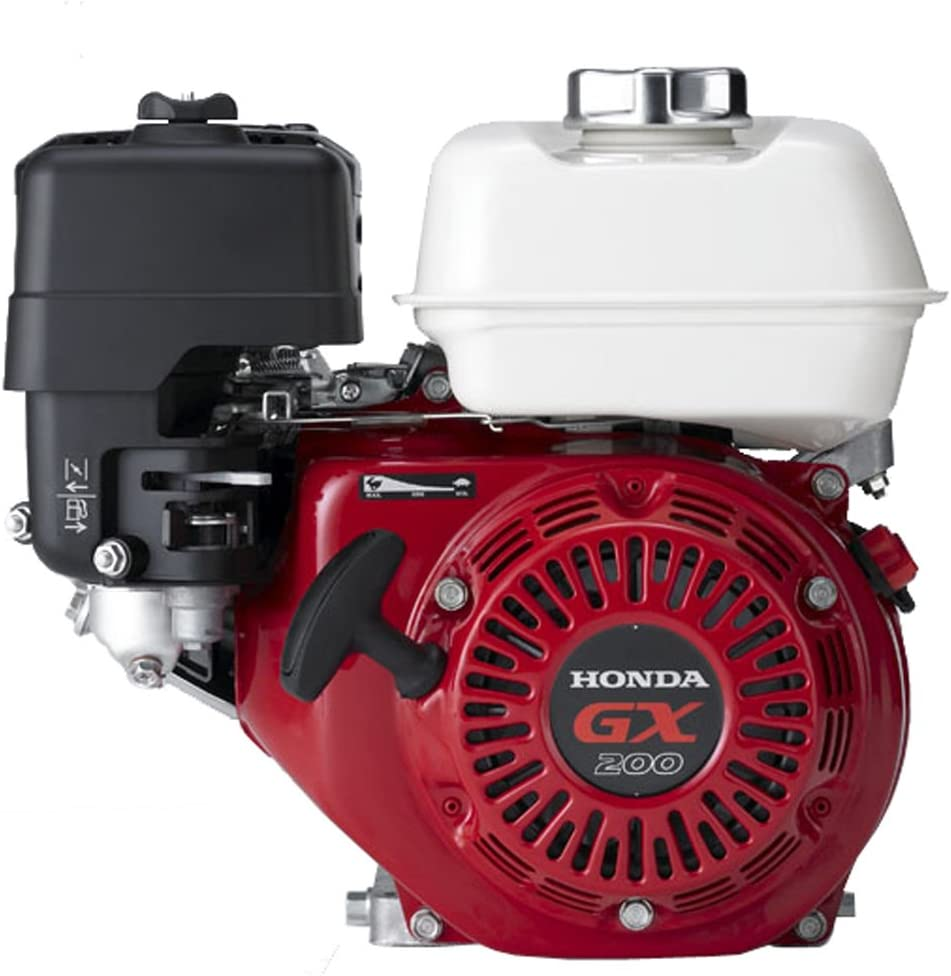 Honda GX200UTQX2 196cc GX200 Series OHV 5.5 HP Engine With Straight Keyed Shaft 3/4-Inch by 2-7/16-Inch Crankshaft