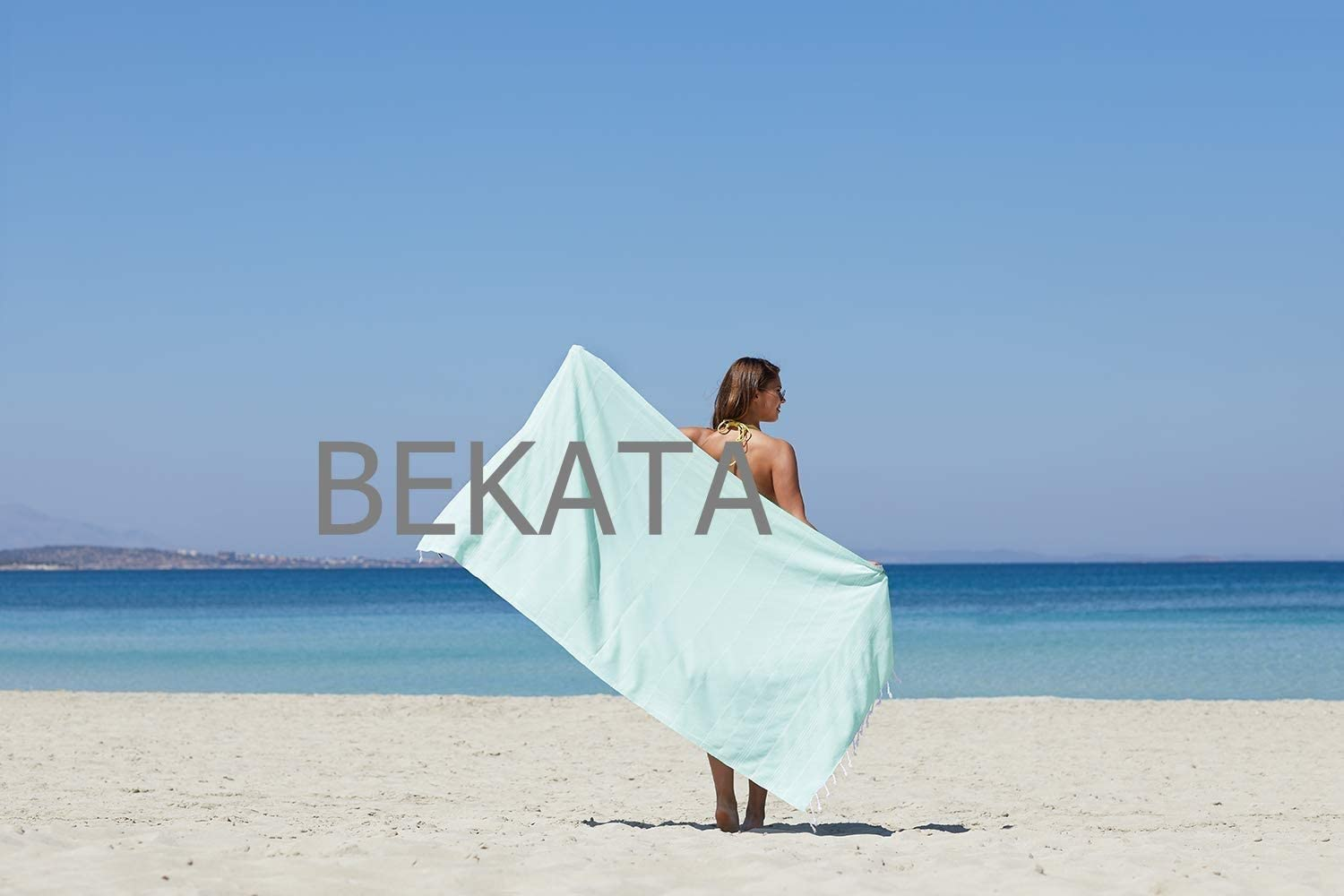100x180cm Bekata Peshtemal Large Turkish Beach Towel Absorbent-Quick Dry 100/% Cotton for Bath Hammam Spa Travel Yoga Gym Yacht Pool Pilates Pareo Fouta Shawl Tablecloth Camping Blanket Set 39x70