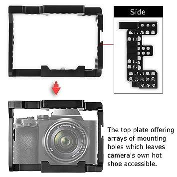 WAL - Jaula de vídeo para cámara réflex Digital Sonny A7 Series ...